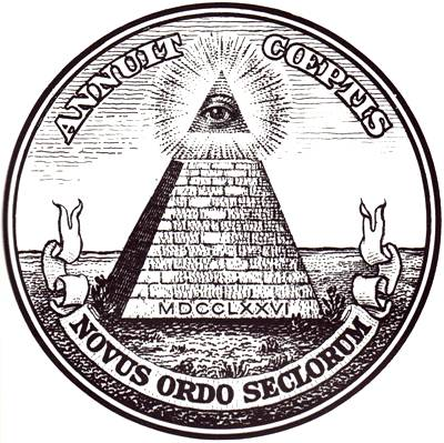 The Reverse Of Great Seal United States Which Bears An Unfinished Pyramid And All Seeing Eye Adopted In 1782