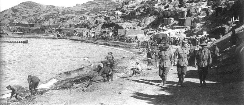 a history of the landing at gallipoli by anzacs in april 1915 Around midnight on 24 th april 1915, the landing fleet sailed from lemnos to  posted in gallipoli history,  when the anzacs cruised for gallipoli in 1915,.