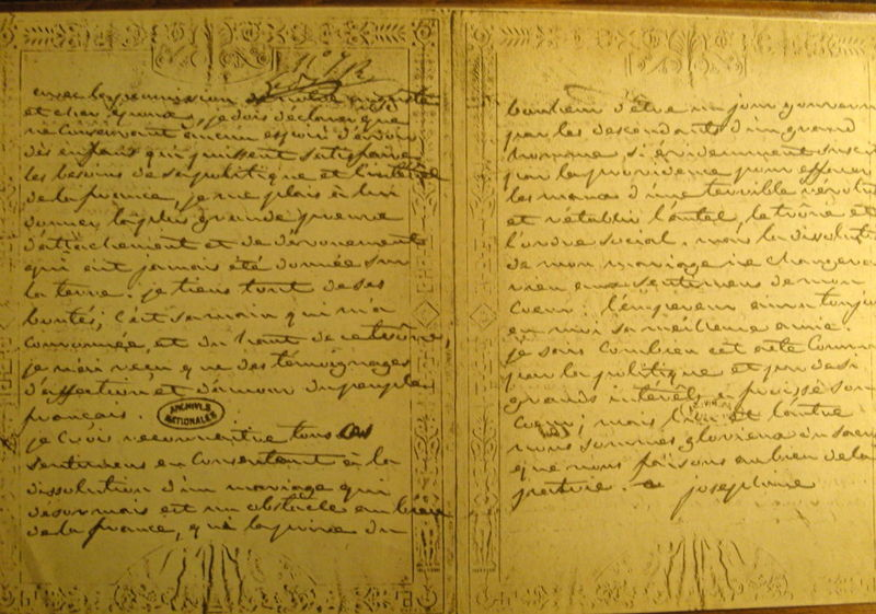 Love Letters To Josephine From Napolean