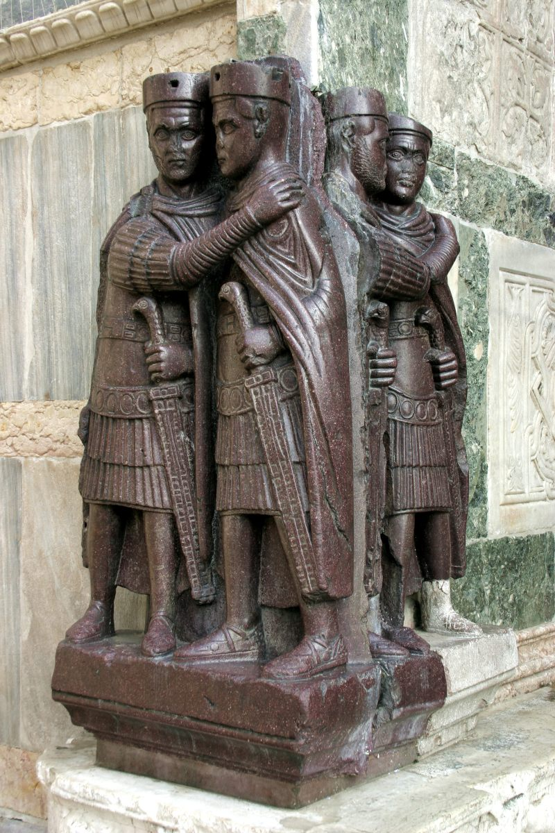 The Portrait Statue of the Four Tetrarchs