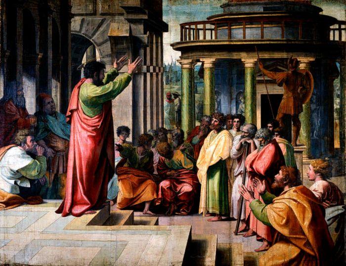 V&A_-_Raphael,_St_Paul_Preaching_in_Athens_(1515).jpg