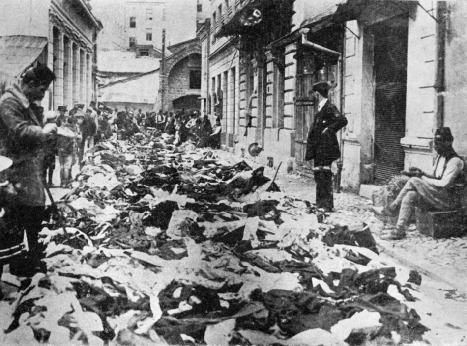Devastated_and_robbed_shops_owned_by_Serbs_in_Sarajevo_1914
