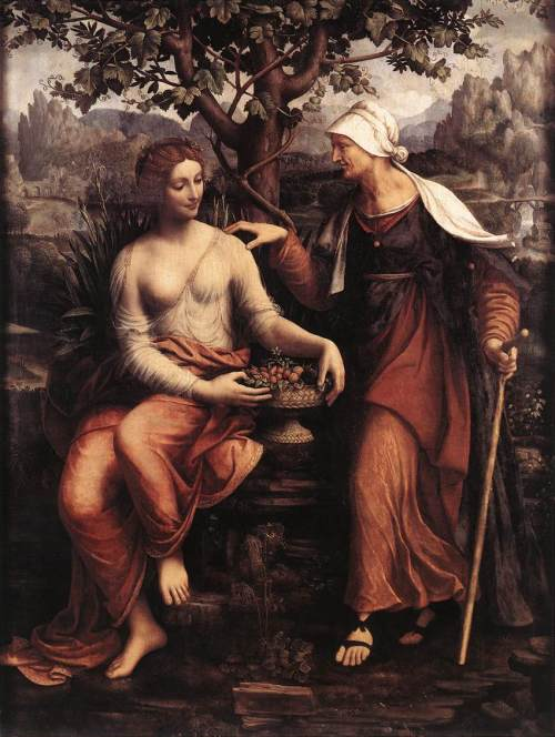 Francesco_Melzi_-_Pomona_and_Vertumnus_-_WGA14794