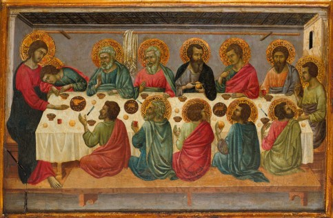 1г_Ugolino_di_Nerio._The_Last_Supper_Metropolitan_mus._N-Y