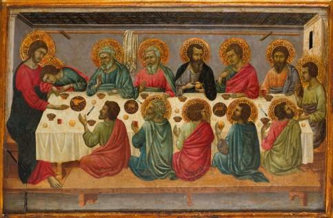 1г_Ugolino_di_Nerio._The_Last_Supper_Metropolitan_mus._N-Y