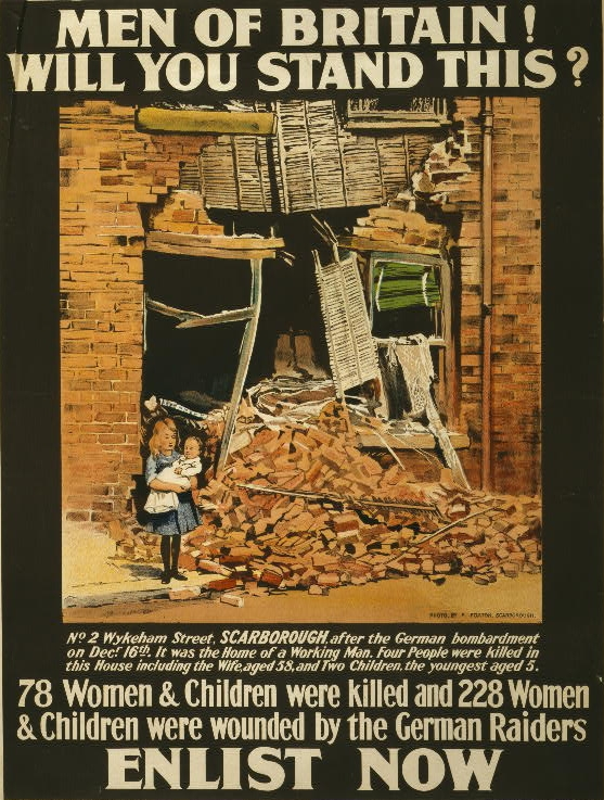 Nationalist Artwork Scarborough_north_yorkshire_-_wwi_poster