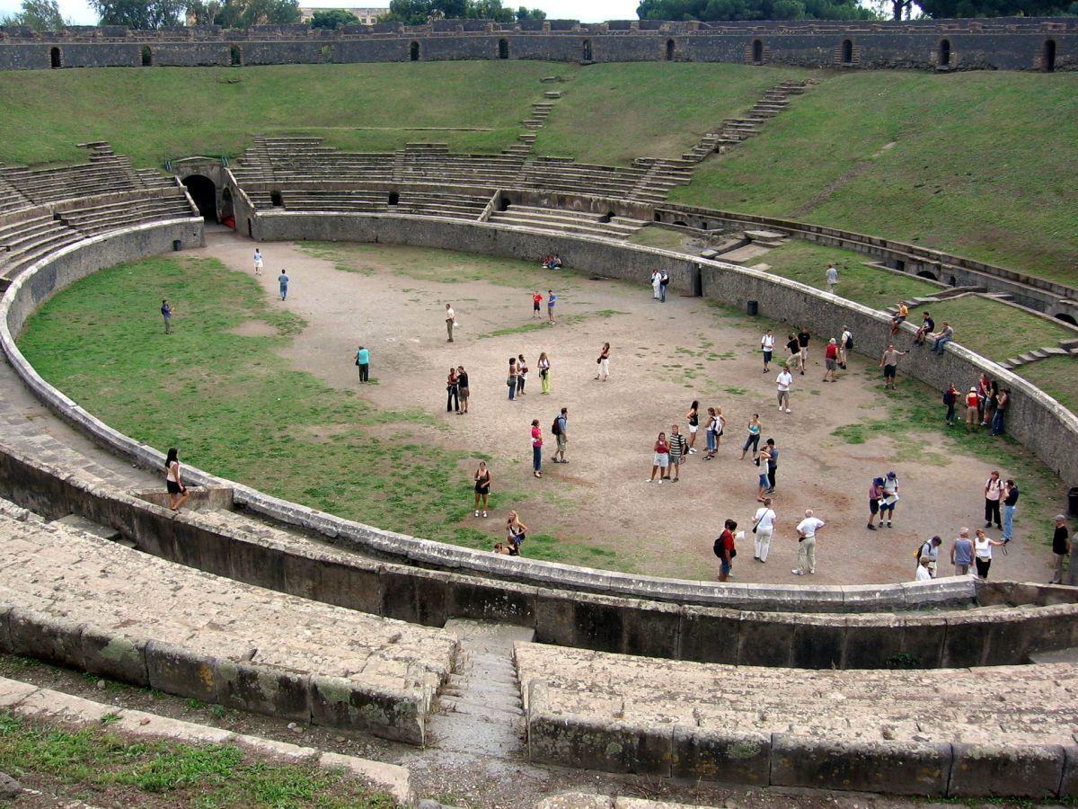 Pompeii's controversial amphitheatre