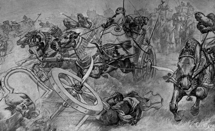 1280px-The_charge_of_the_Persian_scythed_chariots_at_the_battle_of_Gaugamela_by_Andre_Castaigne_(1898-1899) (2)