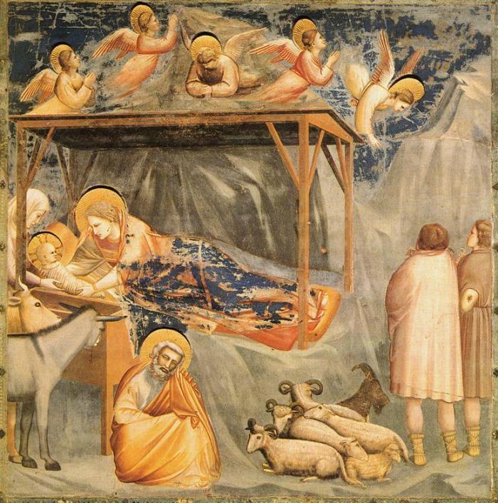 Giotto_-_Scrovegni_-_-17-_-_Nativity,_Birth_of_Jesus