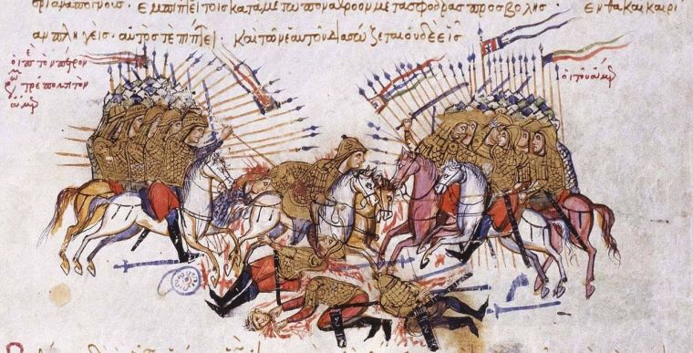 1280px-Fighting_between_Byzantines_and_Arabs_Chronikon_of_Ioannis_Skylitzes,_end_of_13th_century..jpg