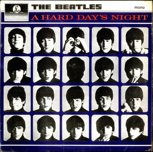 The+Beatles+A+Hard+Days+Night+-+2nd+-+VG+574716