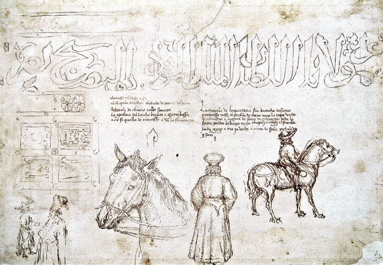 1280px-Sketches_of_John_VIII_Palaiologos_during_his_visit_at_the_council_of_Florence_in_1438_by_Pisanello.jpg