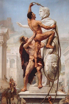 300px-Sack_of_Rome_by_the_Visigoths_on_24_August_410_by_JN_Sylvestre_1890 (1)