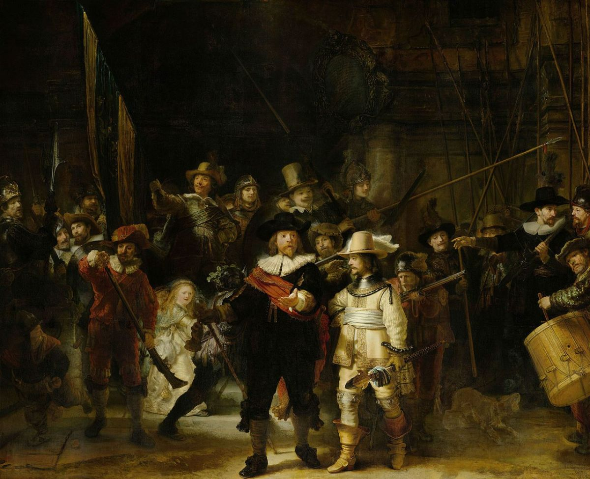 Today in History: Birth of Rembrandt van Rijn.