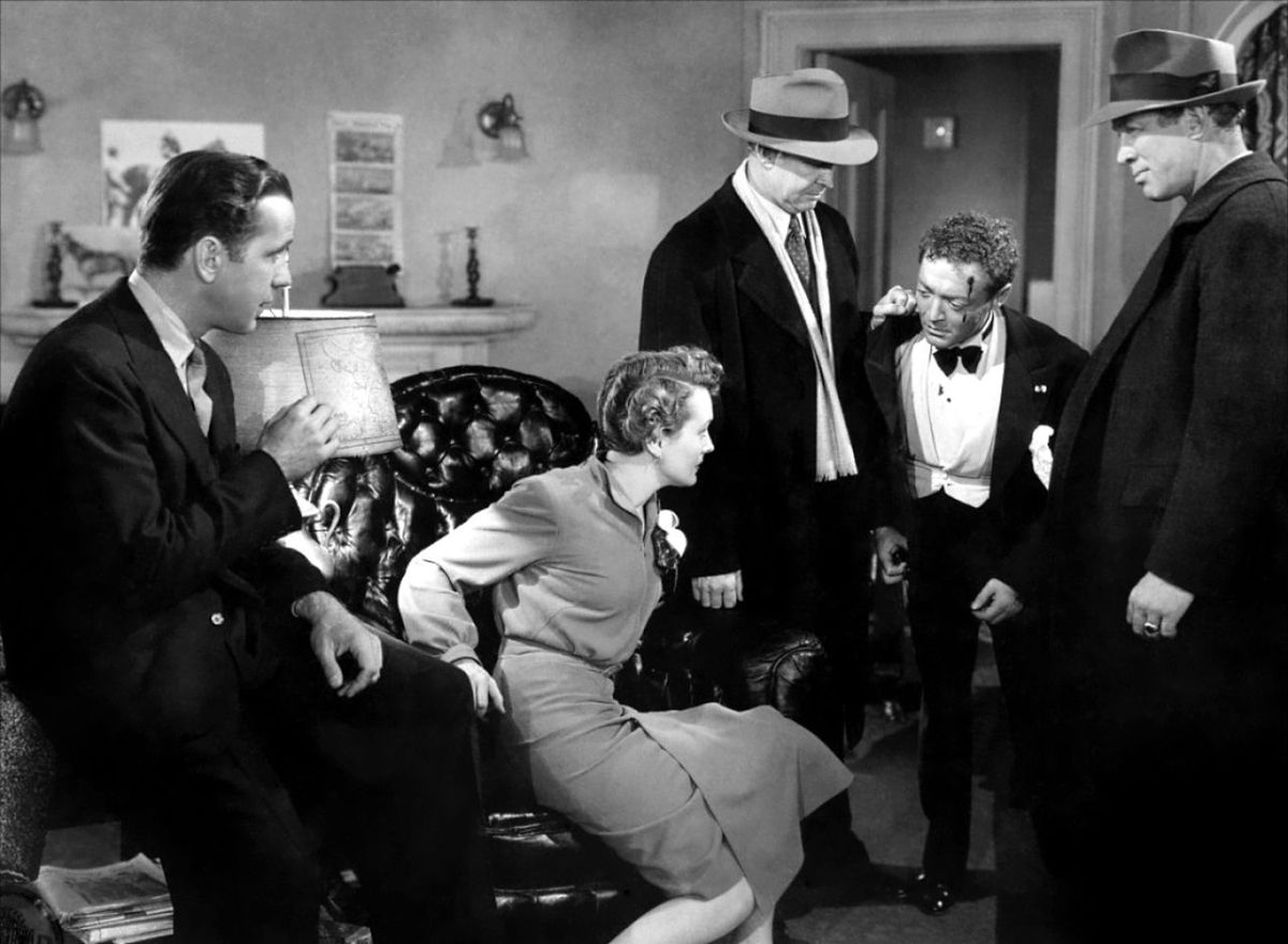A selected film-by-film history of Warner Bros. Pictures: The Maltese Falcon (1941).